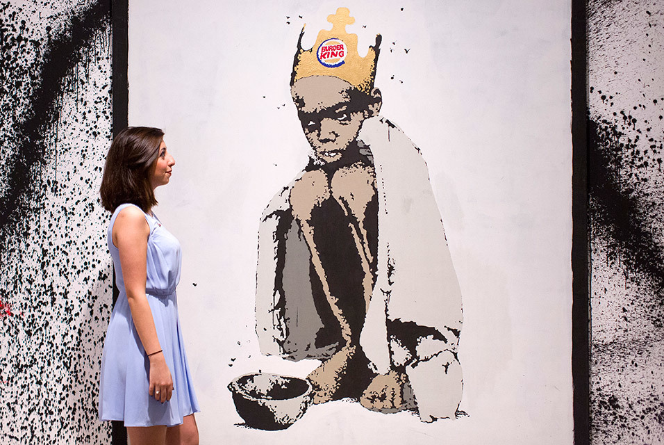 Banksy Burger King 2006