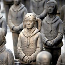 Prune Nourry's Terracotta Daughters at the China Institute, Sept. 11-Oct. 4