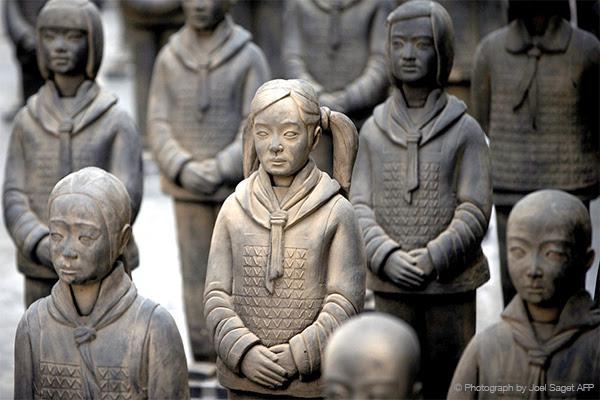 Prune Nourry China Institute Terracotta