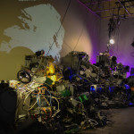 Taezoo Park 'Digital Being', 2015 Modified electronic waste and found objects (collected between 2012-2014) Dimensions variable Cultbytes