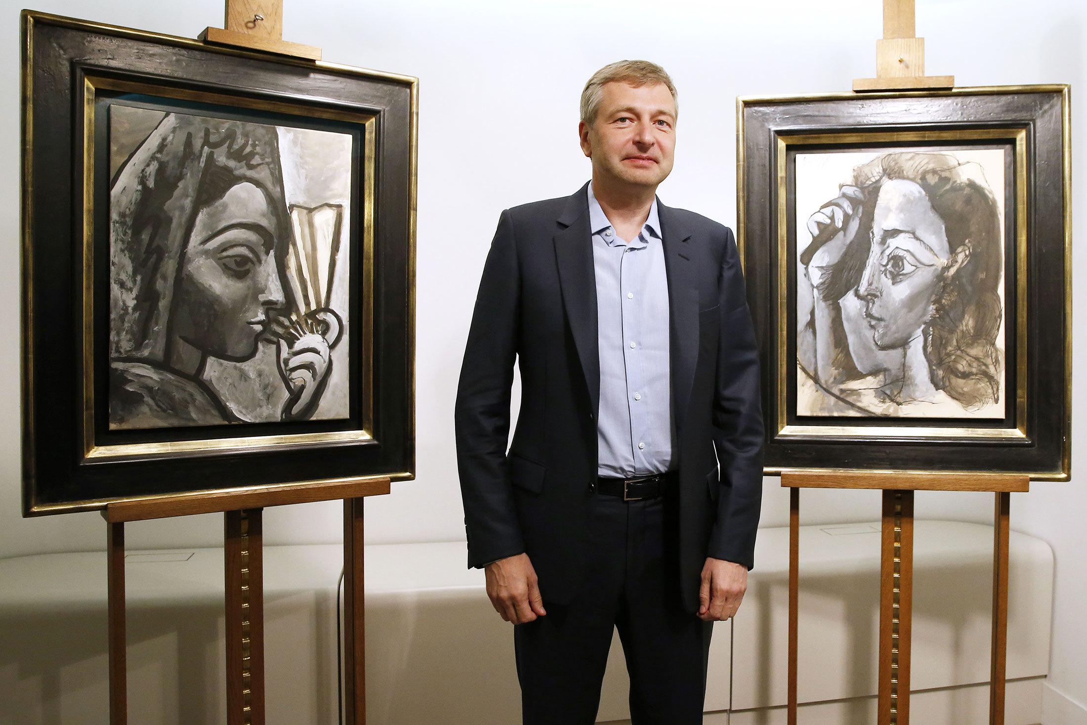 Dmitry Rybolovlev Trump Picasso