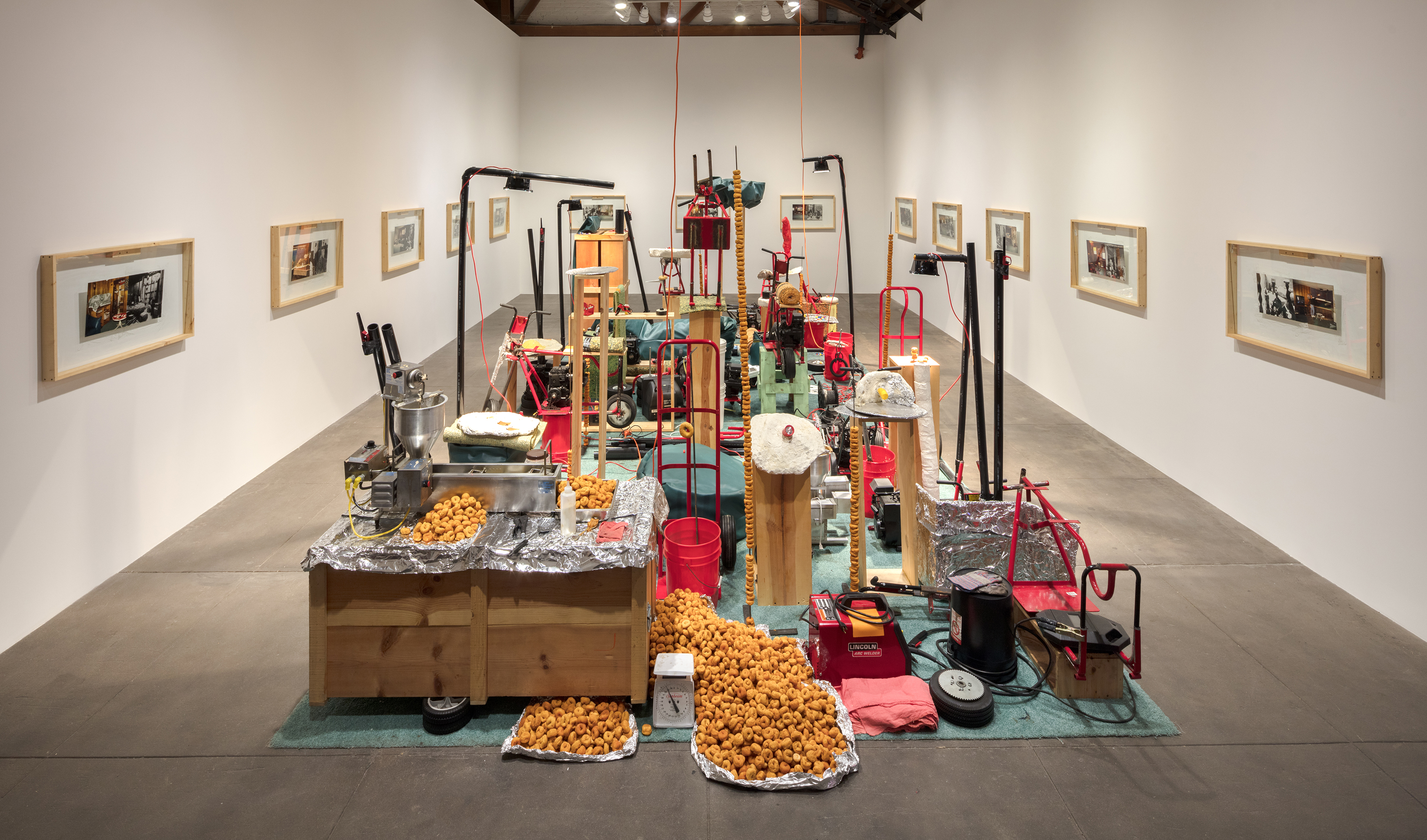 "Jason Rhoades, ""My Brother/Brancuzi"" at Hauser, Wirth and Schimm"
