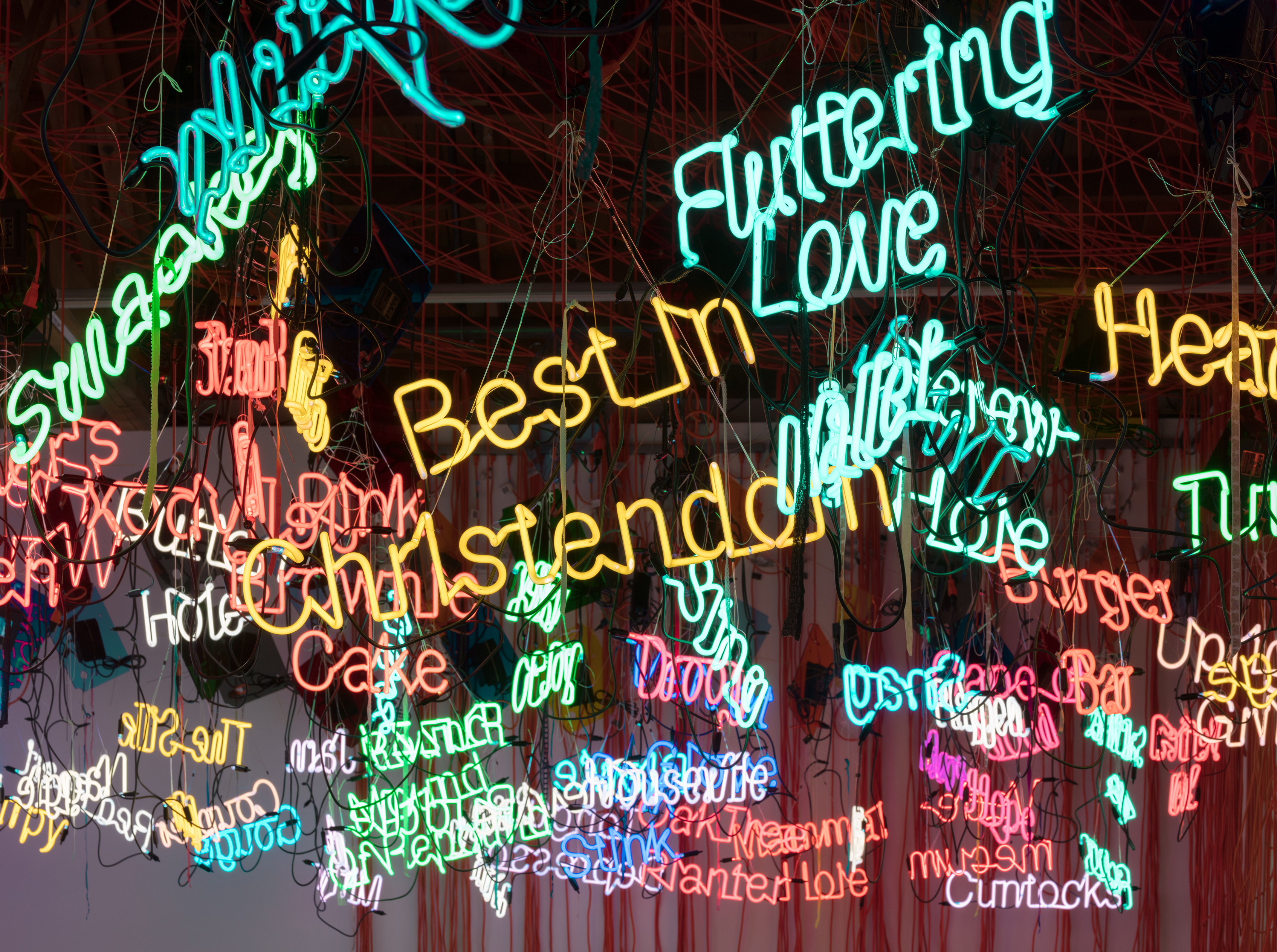 "Jason Rhoades, ""My Madinah. In Pursuit of my ermatage..."" (2004)"