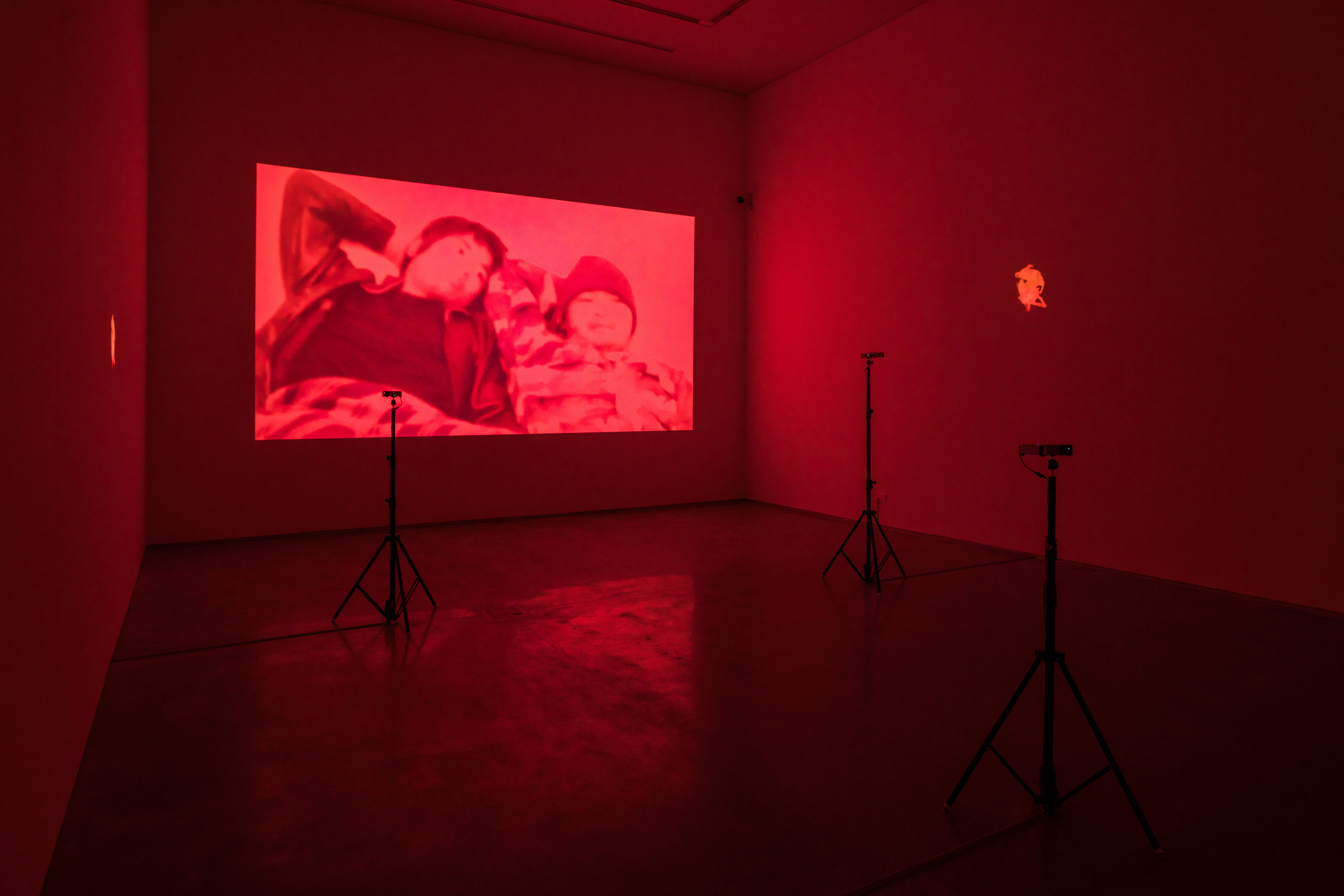 "APICHATPONG WEERASETHAKUL ""Haiku"" (2009) and ""The Palace (Pipittapan Tee Taipei)"" (2007) Installation View"