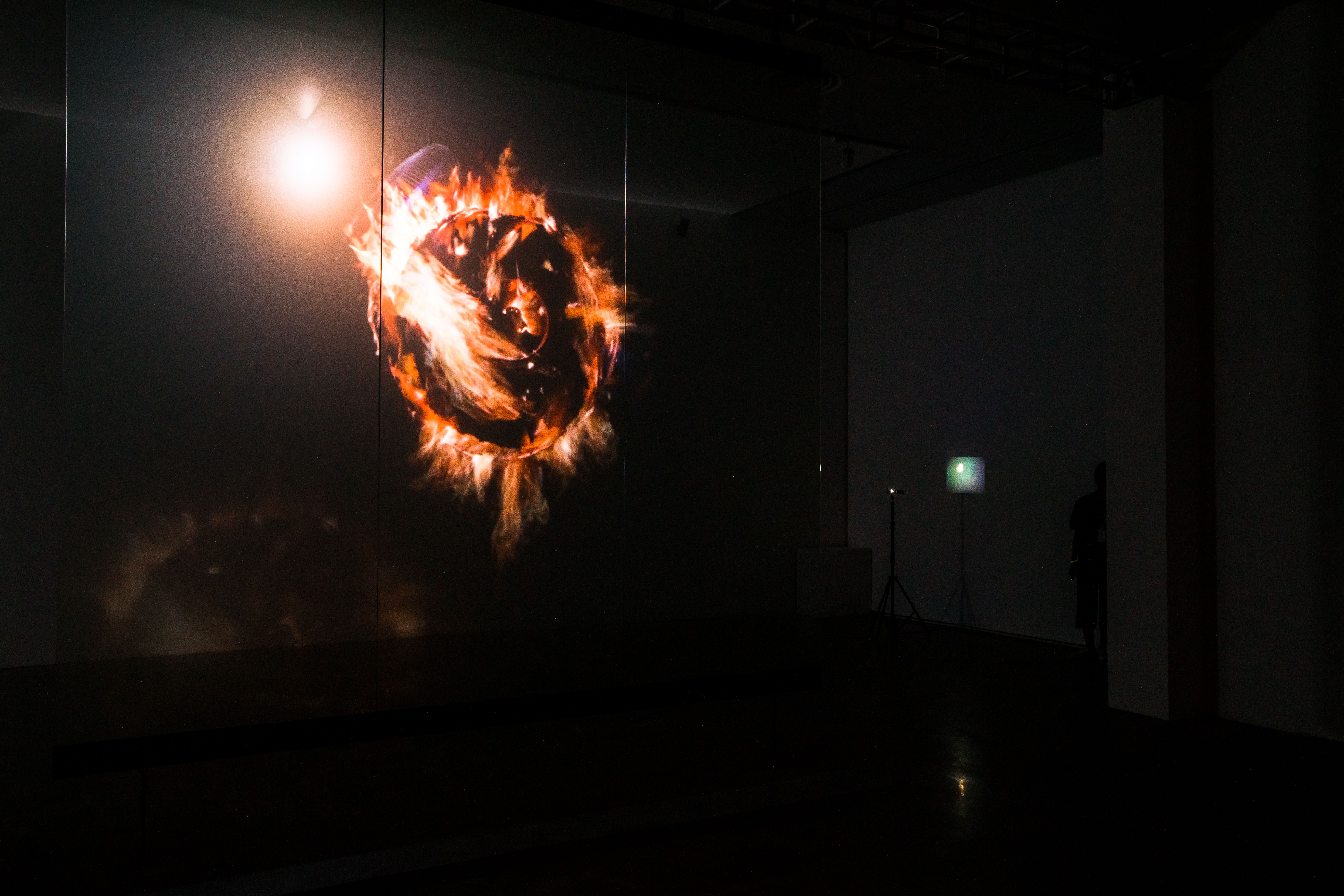 "Apichatpong WEERASETHAKUL ""Fireworks (Fans)"", 2016 Installation View"