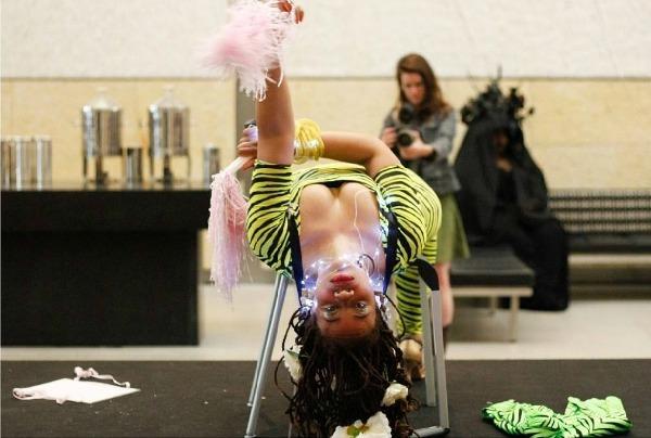 Ayana Evans Barnes Foundation, Miami Art Week, Performance is Alive