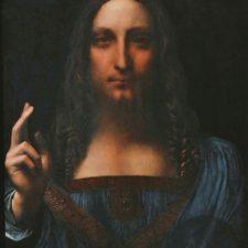 Found it! The Salvator Mundi by Leonardo da Vinci is here!