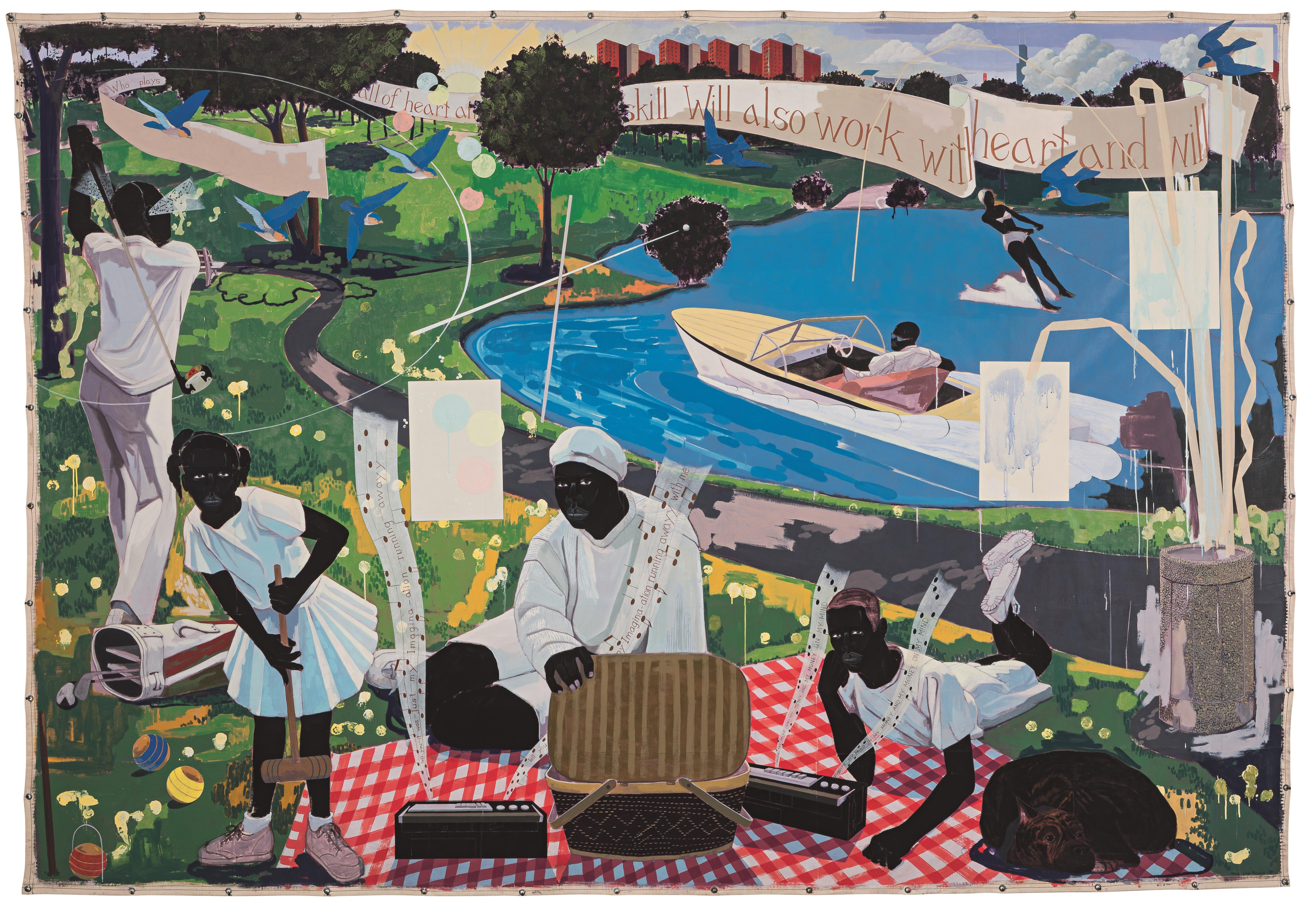 Kerry James Marshall, Sotheby's