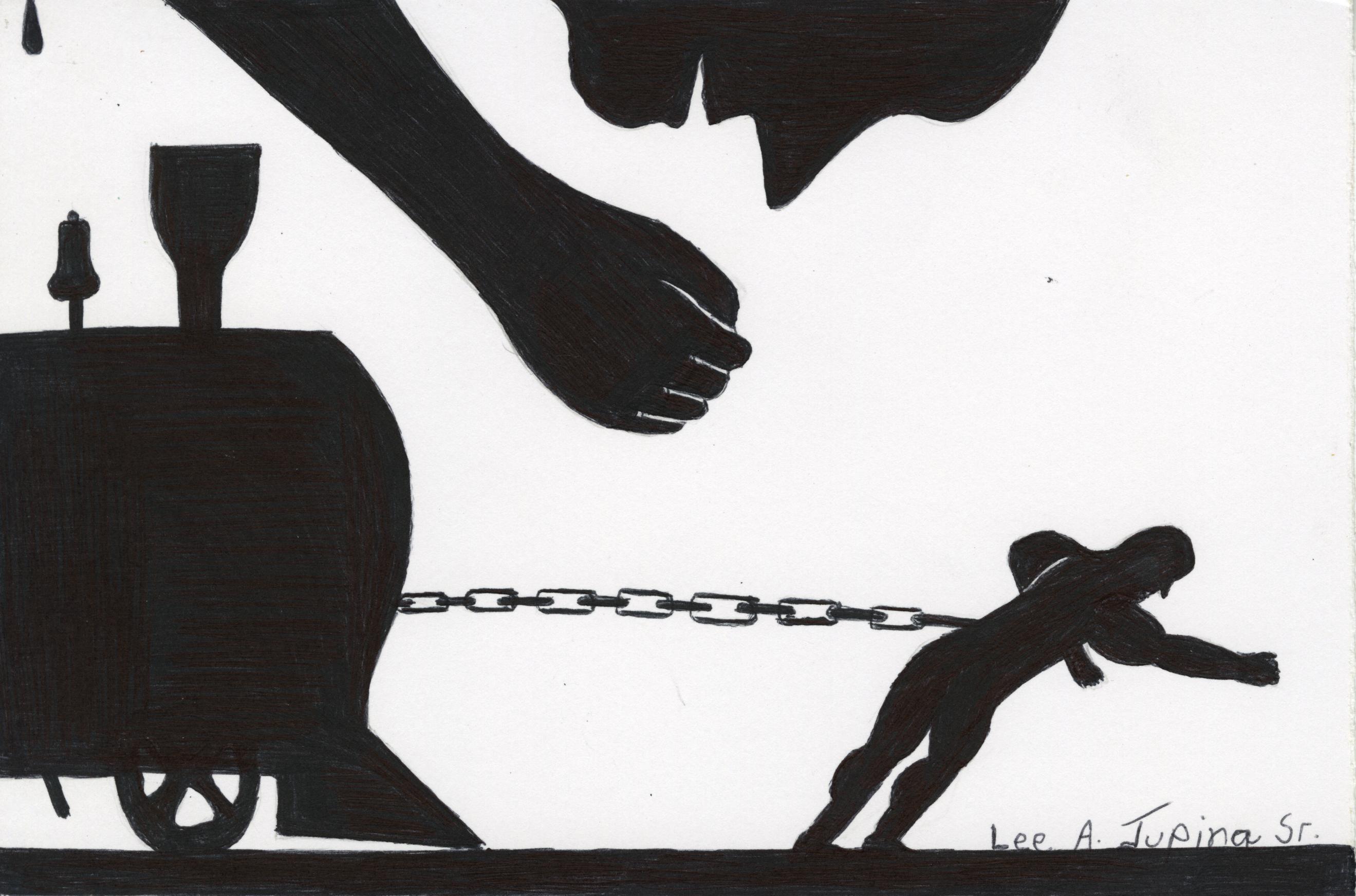 Prison Art Lee Jupina