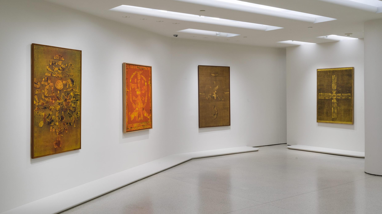 VS Gaitonde Guggenheim