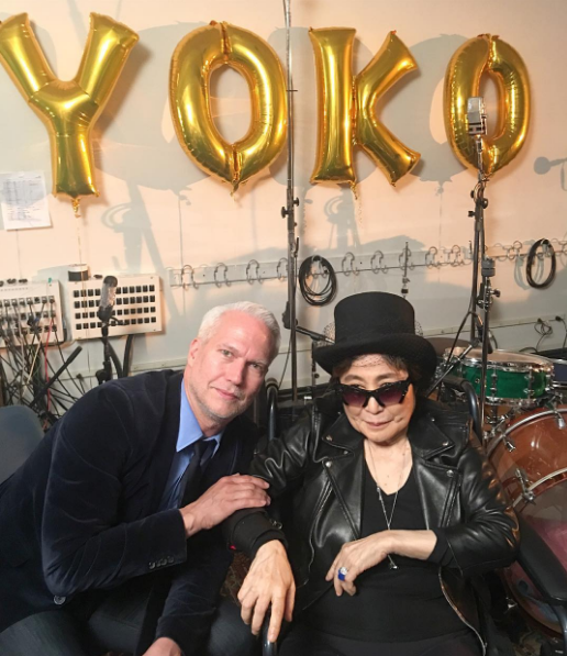 FOREVER YOUNG! congratulations to your 84th birthday #yoko ono Klaus Biesenbach @yokoonoofficial