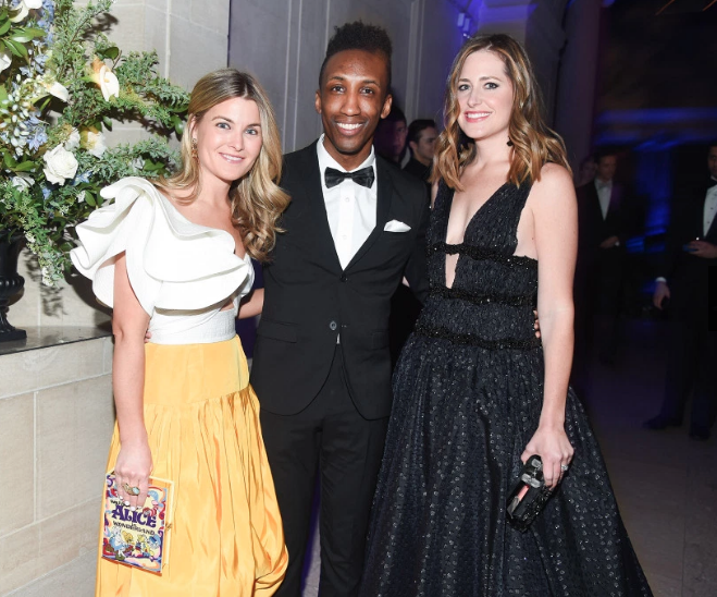 Brent Winston, Hakeem DuBois, Amory McAndrew Young Fellows Ball The Frick Bill Cunningham