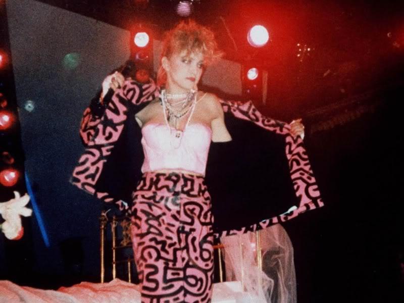Madonna Keith Haring 1984