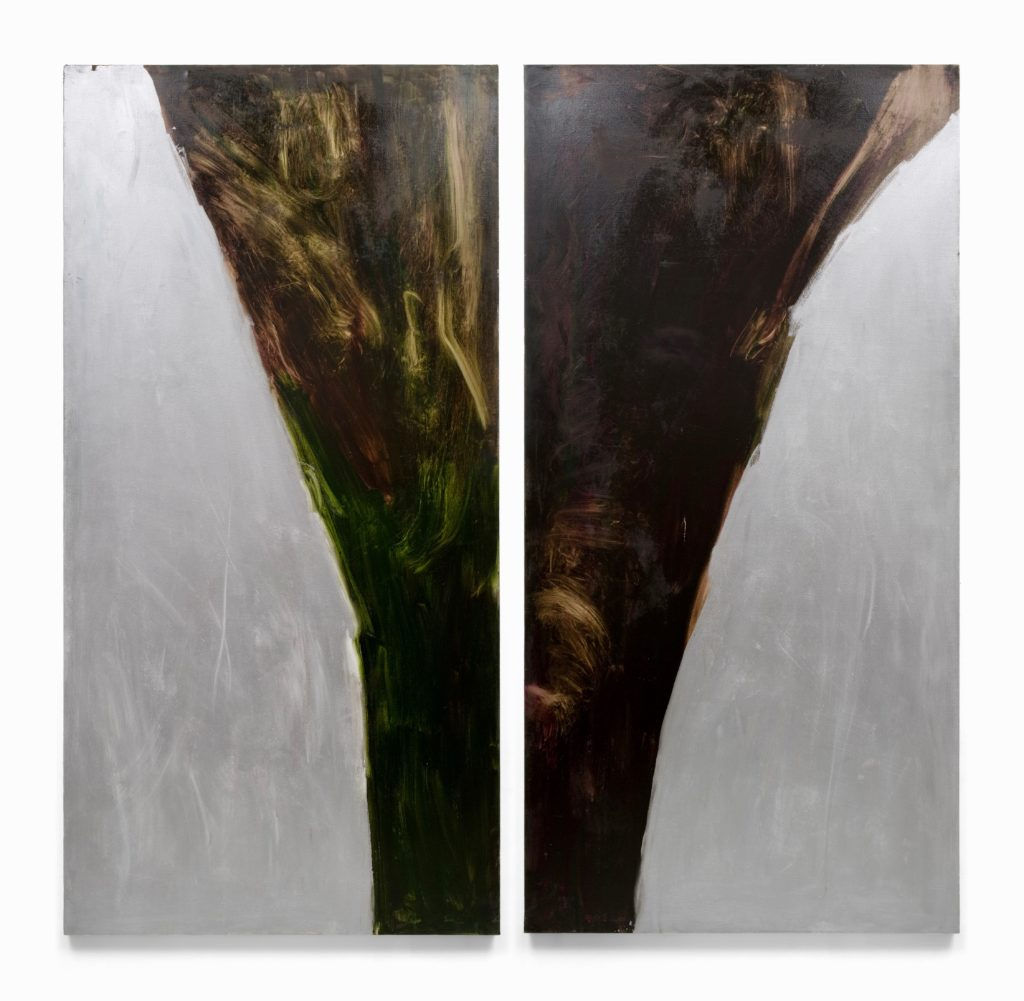 Jane Swavely Silver Diptych
