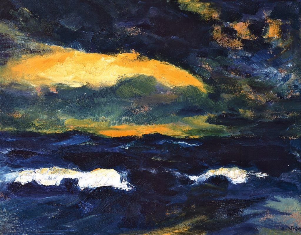 Emile Nolde Light Breaking Through