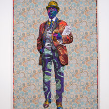 Quilted Portraits that Evoke the Racialized and Gendered History of Craft